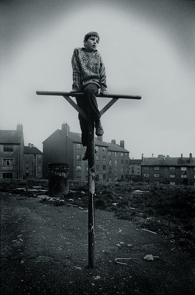 Crucified in Easterhouse : Glasgow : Scotland
