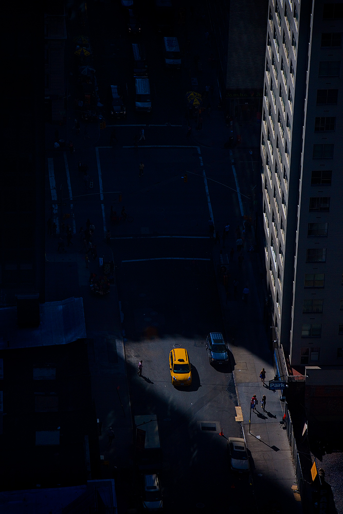 39th Floor Taxi : 5th Av and 57th : NYC