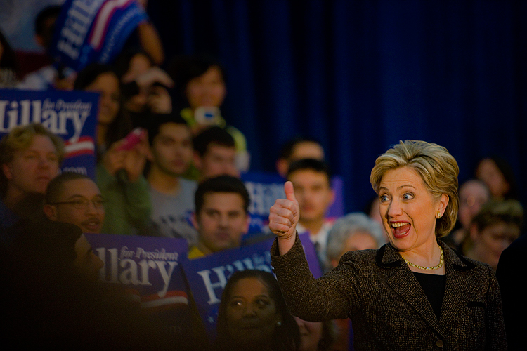 Hillary Wins Puerto Rico and Manically Fights On : NJ