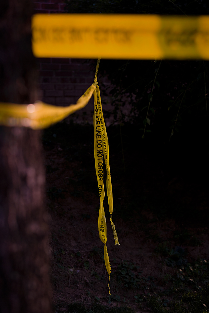 Yellow Ribbon - Crime Scene : Hawaii Avenue NW : DC