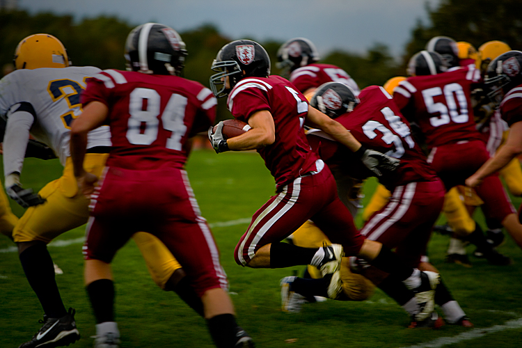 Introduction to American Football : Portsmouth : Rhode Island USA