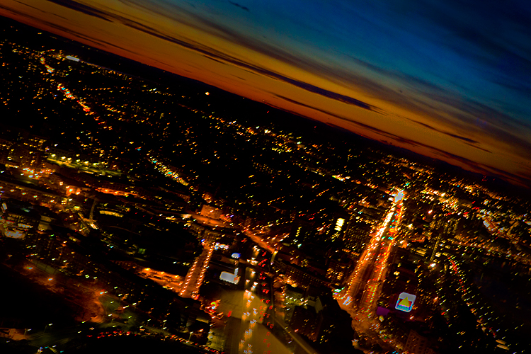 Mad View of Boston : Sky Walk Observatory Prudential Tower : Boston