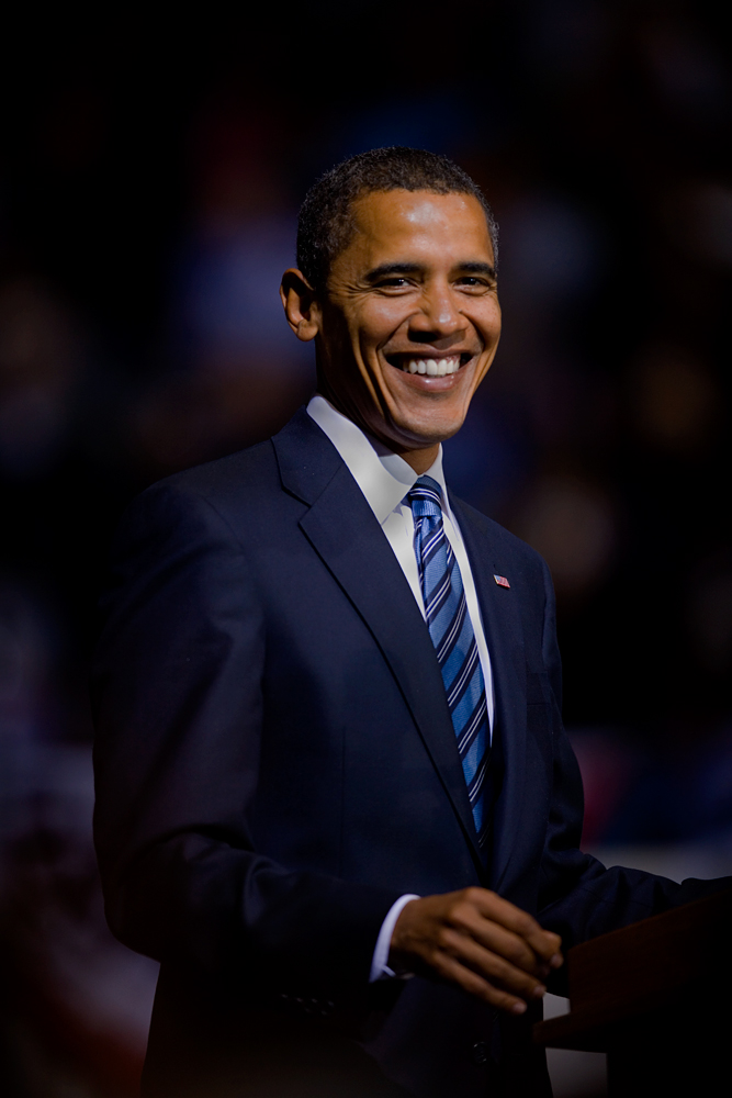 The President of The United States Of America : Barack Obama : Virginia