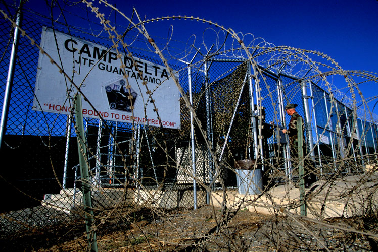 And so the torture issue continues - Camp Delta Guantanamo Bay