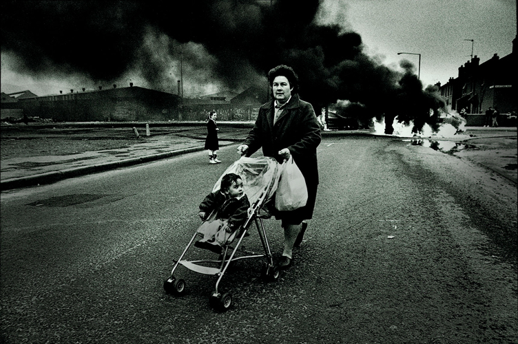 40 Years of The Troubles : Short Strand District Belfast : Northern Ireland