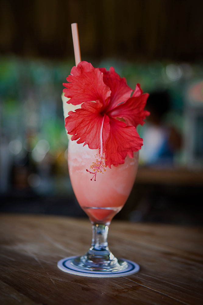 Strawberry Dacari : Maya Breeze Inn and Resort Placencia : Belize