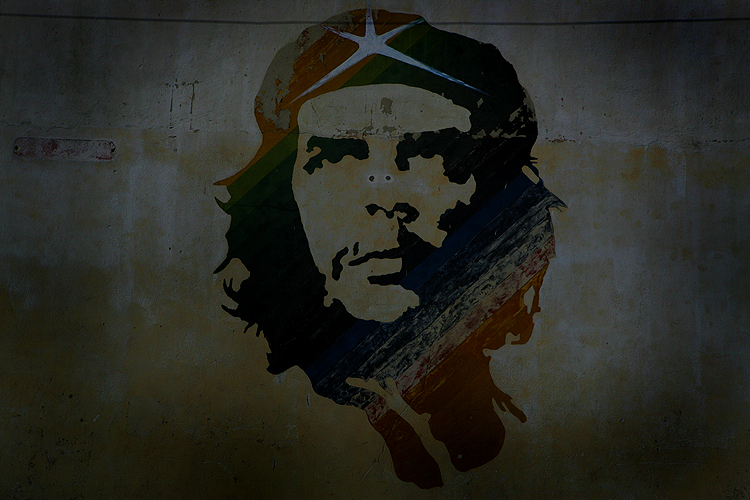 Che Guevara the Face of Revolution : Havana : Cuba