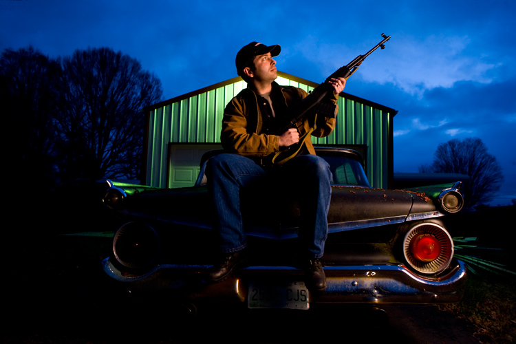 Steve Gun Owner and Fifties Car Enthusiast : Cowan : Tennessee