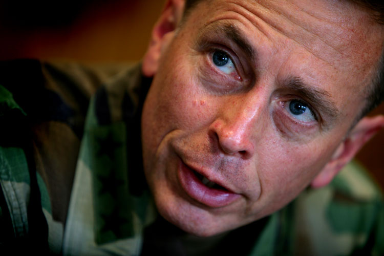 General Petraeus : New Afghan Coalition Commander : USA