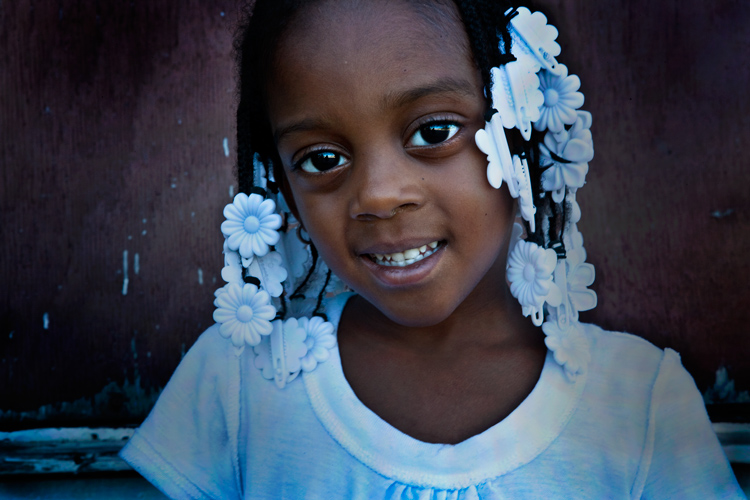 Beautiful Child : Downtown Gary : Indiana