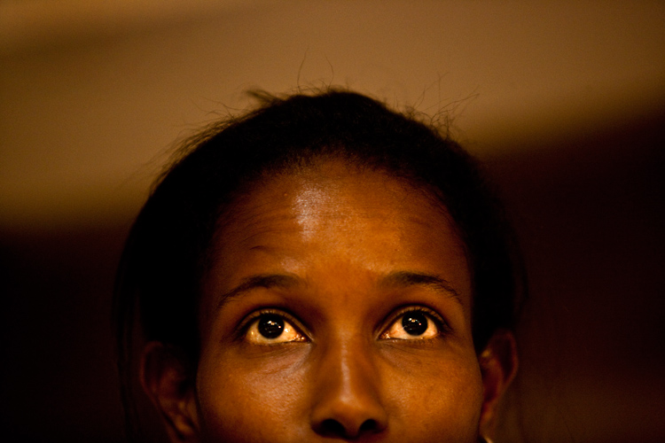 Ayaan Hirsi Ali Human Rights Campaigner : Washington DC : USA