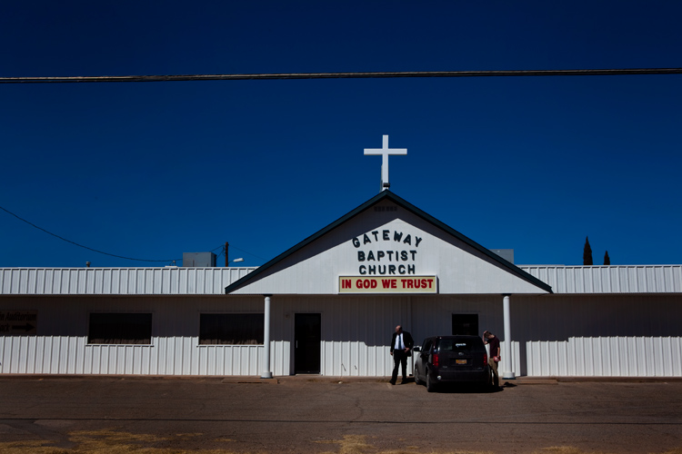 In God We Trust : Alamogordo : New Mexico