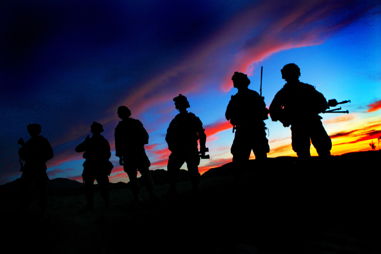 Band of Brothers : US Soldiers NTC : California