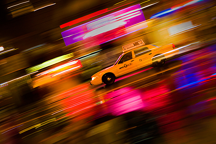 Taxi Madness: 23rd and 8th : New York City