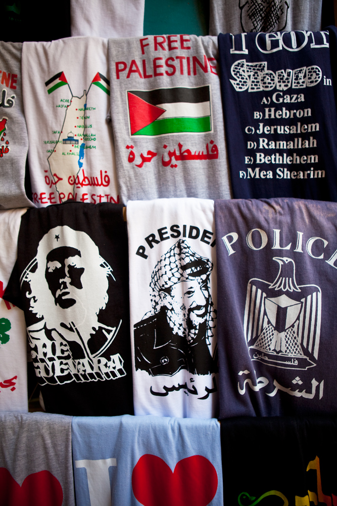 Pro Palestine T Shirts : Old City of Jerusalem : Israel