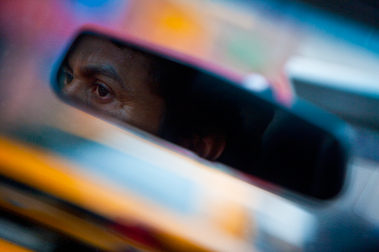 Looking Back : New York Taxi Driver : USA