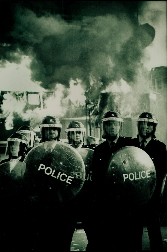 Londons Burning : Poll Tax Riots : London UK
