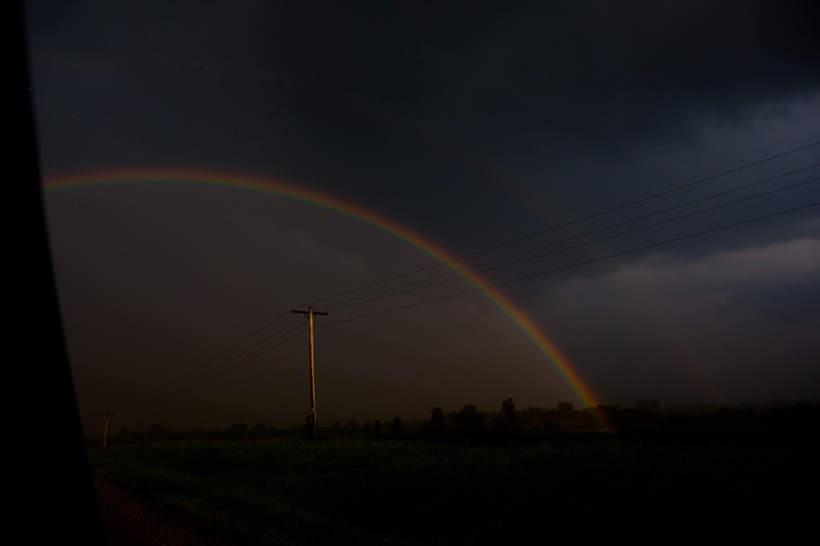 Storm Rainbow : Kansas : USA