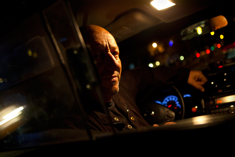 Russian Taxi Driver : Chelsea Manhattan : NYC