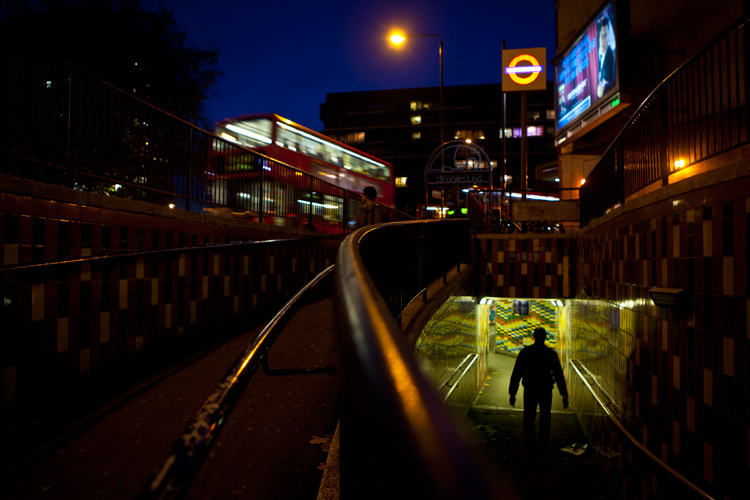 The Elephant Underpass : Elephant and Castle : London