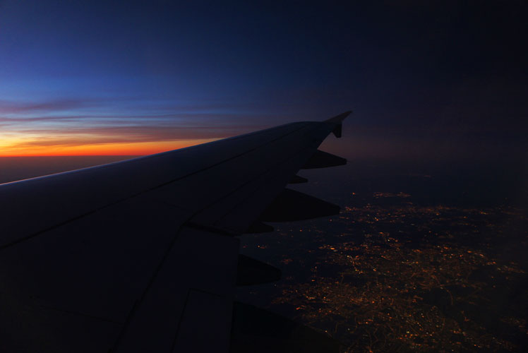 Dawn Light Wings Over Germany : Time for Sleep