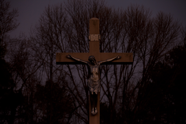 Crucifix : Belmont Abbey College : North Carolina