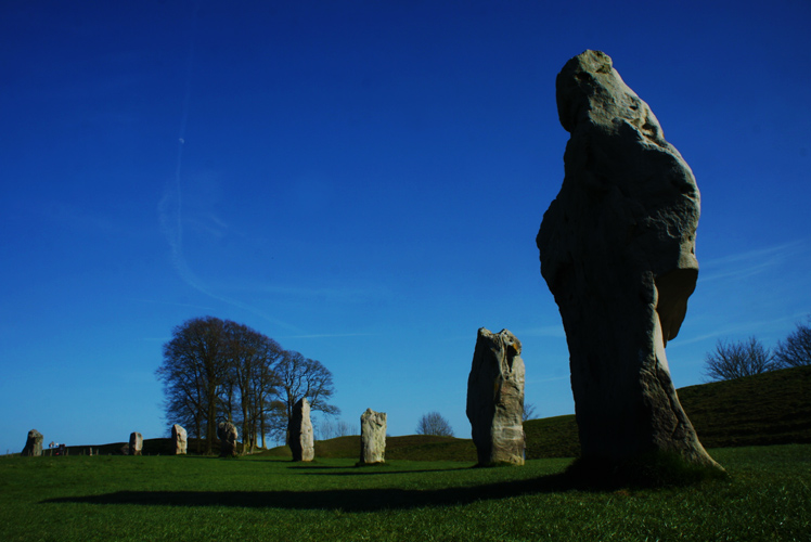 Avebury Stone Circle : Wiltshire : UK