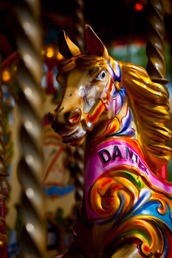 Carousel Horse : South Bank : London