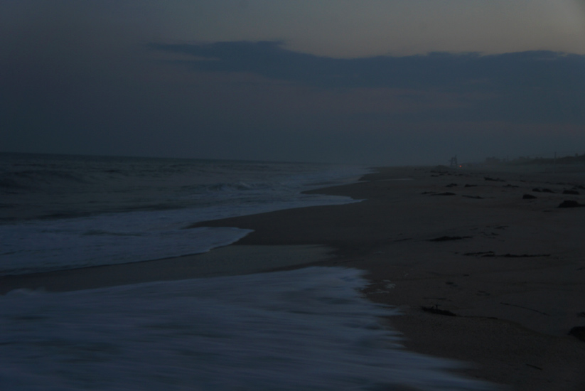 Late in the Day : Beach Hamptons NY : USA