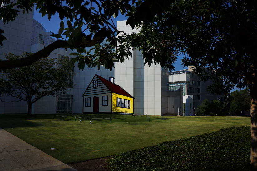Getting High  : Roy Lichtenstein House : The High Museum of Art Atlanta