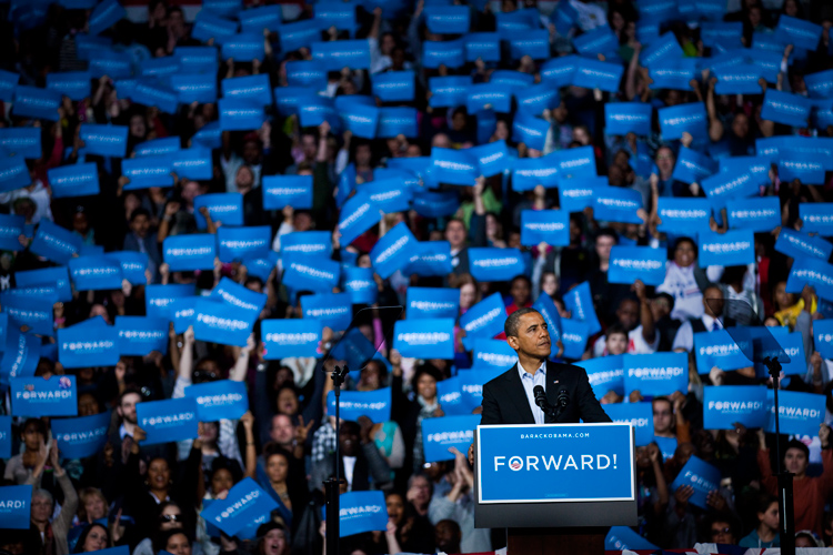 President Obama Final Campaign Rally : Columbus : Ohio