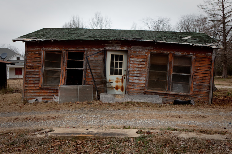 Wobbly Shack : Hope : Arkansas