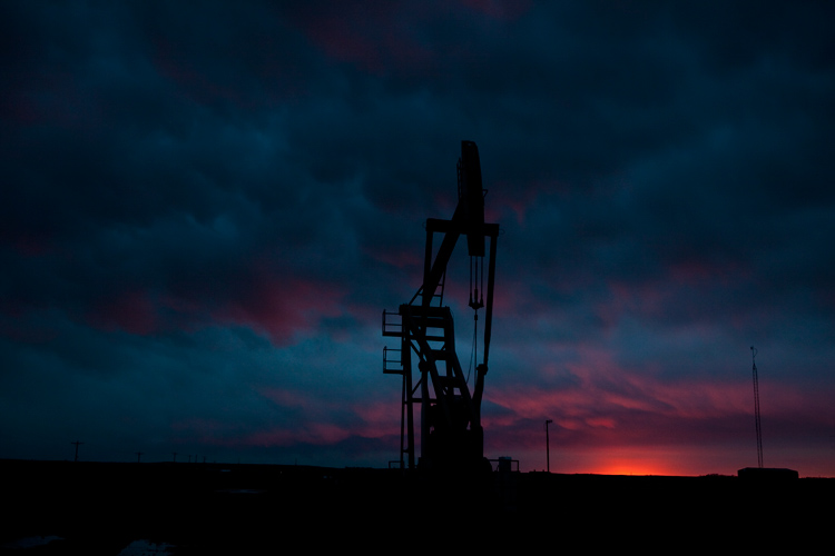 Oil and Sky : Dickinson : North Dakota