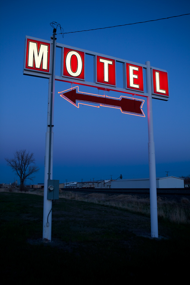 Montana Motel : Billings : Montana USA