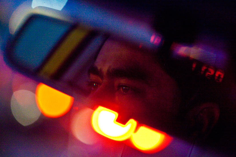 Eyes on the Road Ahead : New York City Taxi Driver : NYC