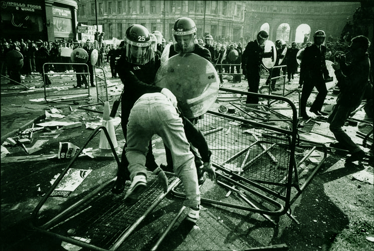 Poll Tax Riot #2 : Trafalgar Square : London