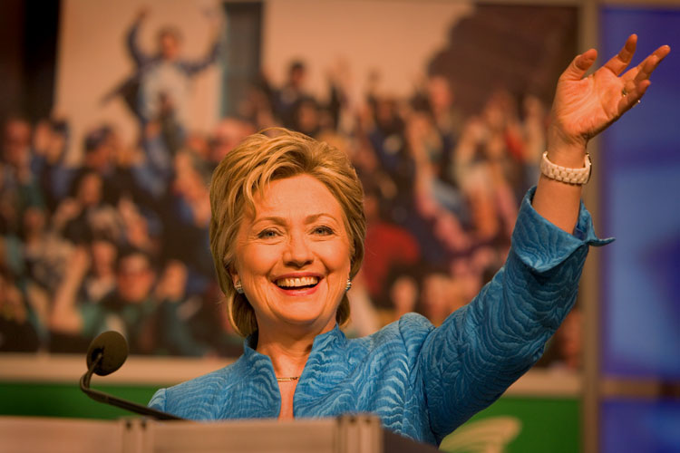 Hillary Clinton on a Roll : Washington : DC