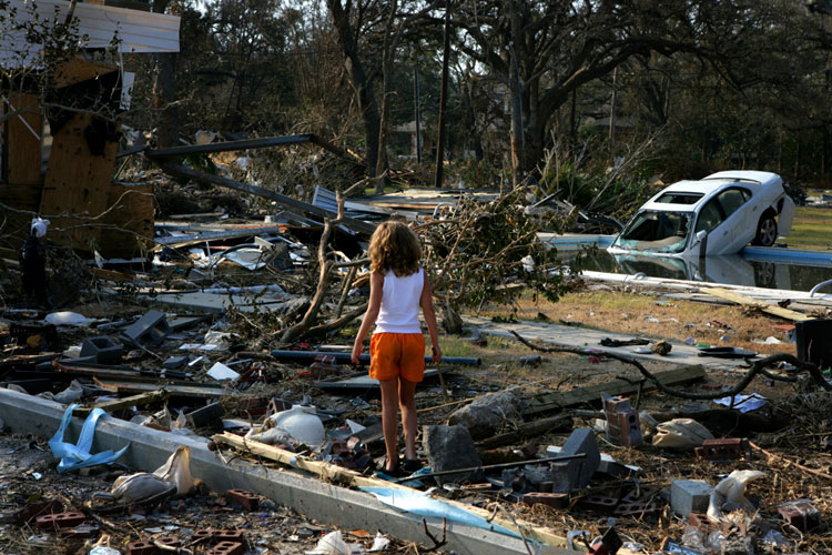 The anniversary of Hurricane Katrina