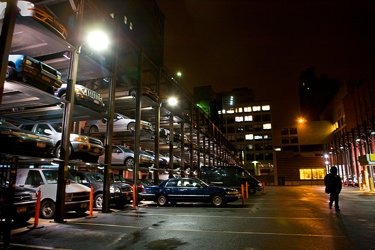 Unparalleled Parking 2AM : 26th and 8th Av : NYC