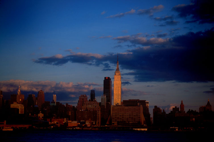 Empire State Building : NYC Skyline from New Jersey