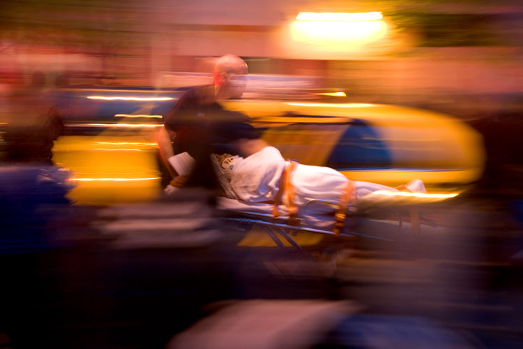 Taxi Hits Boy: Secret life of Taxis #8 :NYC