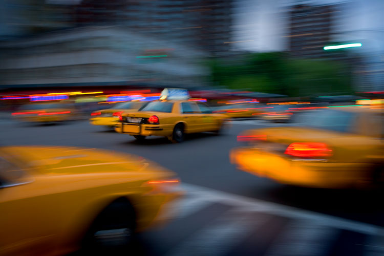 Taxi Speed : 23rd St and 8th Av : NYC