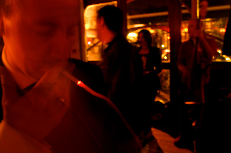 Smoky Jazz Bar : Soho London : UK