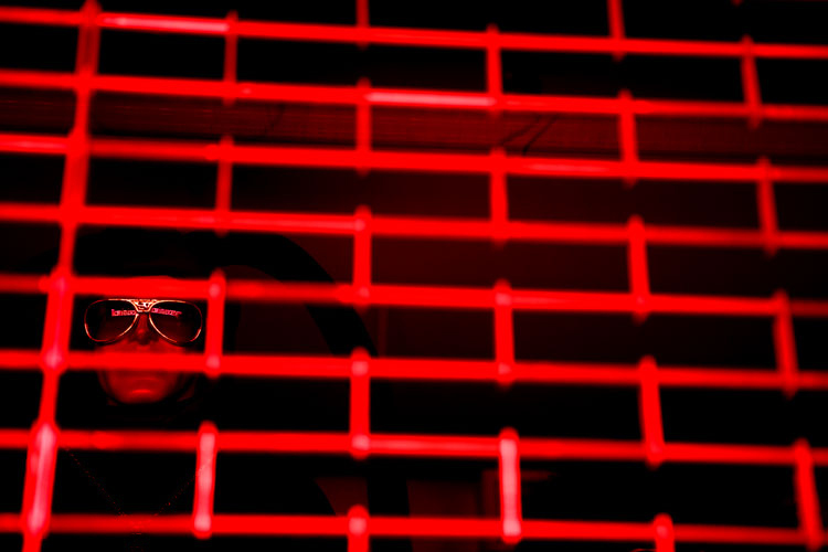 Red Cage: 23rd St NYC