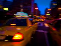 Meatpacking Taxi Madness 2 : 14th and 9th Av :  NYC