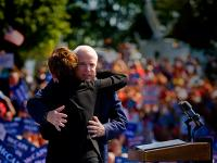 Republican Waltz : Sarah Palin and John McCain : Fairfax Virginia