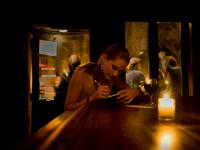 Novelist in Bar : West Side Tavern 23rd St & 9th Av : NYC