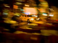 Taxi Madness on 9th - The Mechanistic Motions of City : 9th and 23rd : NYC