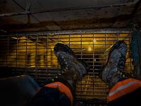 In my Work Boots : Coal Mine : West Virginia