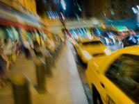 The Girl in the Taxi and the Dream of New York City : Grand Central : NYC